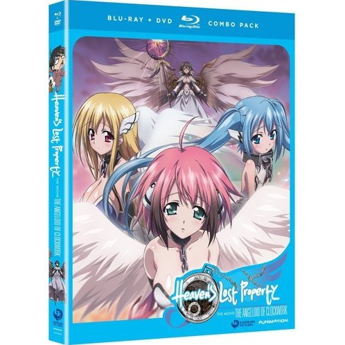 Heaven's Lost Property: The Angeloid of Clockwork [Blu-ray+DVD]