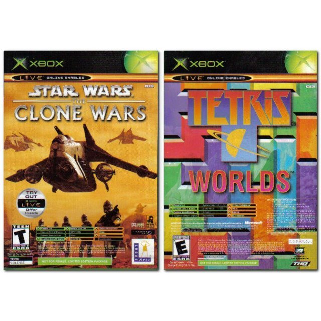 Star Wars: The Clone Wars & Tetris Worlds