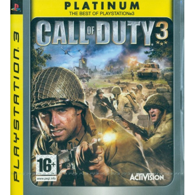 Call of Duty 3 (Platinum)