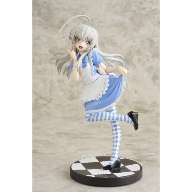 Haiyore! Nyaruko-san Gutto kuru Figure Collection La beaute Non Scale Pre-Painted PVC Figure: Nyaruko Maid Cloth