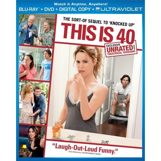 This is 40 [Blu-ray+DVD+UV Digital Copy]