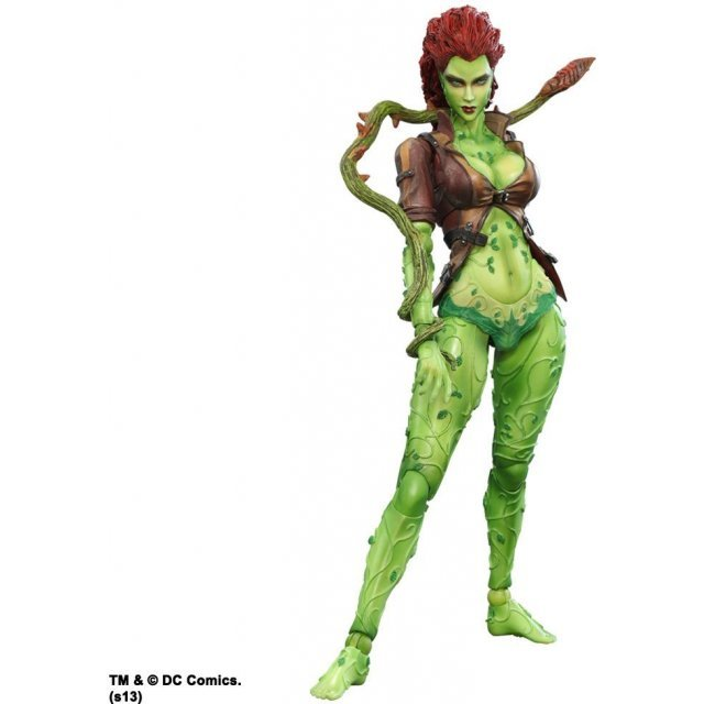 Batman Arkham City Play Arts Kai Non Scale Pre-Painted PVC Figure: Poison Ivy