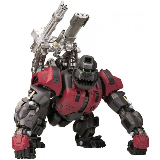 Zoids HMM 1/72 Scale Pre-Painted Plastic Model Kit: EZ-015 Iron Kong Schwartz Ver.