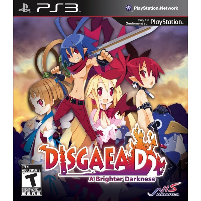 Disgaea D2: A Brighter Darkness (Comes with Free Bonus 2 CD's Official Soundtrack & Art Print)