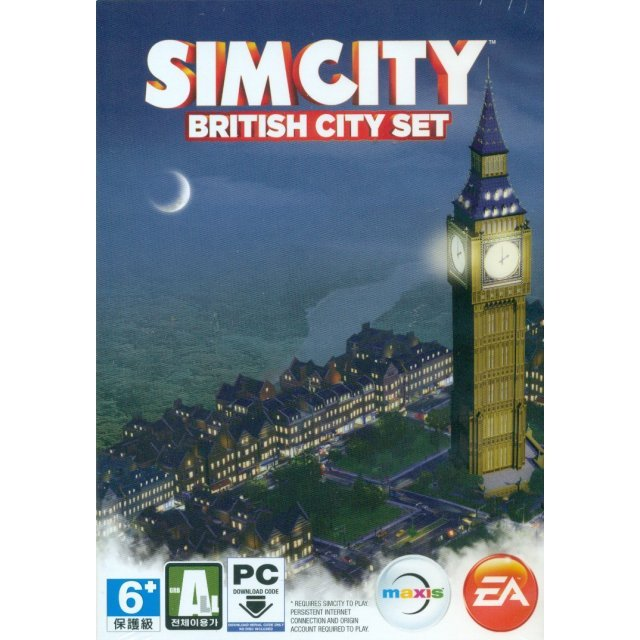 SimCity: British City Set (Download Code Only)