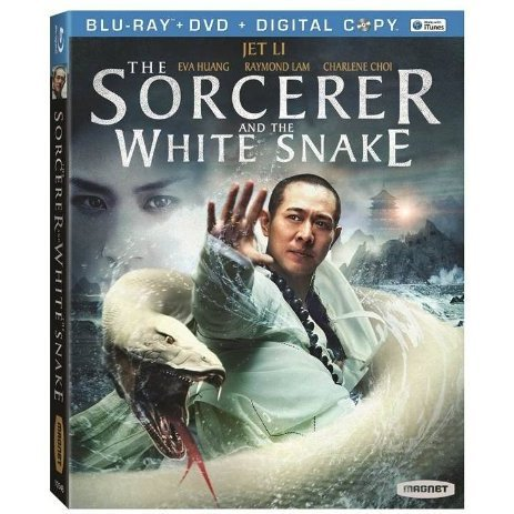 The Sorcerer and the White Snake [Blu-ray+DVD+Digital Copy]