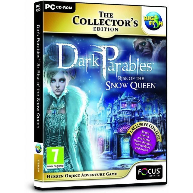 Dark Parables 3: Rise of the Snow Queen (Collector's Edition) (DVD-ROM)