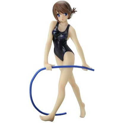 To Heart 2 Non Scale Pre-Painted PVC Figure: Komaki Manaka Physical Education Ver.