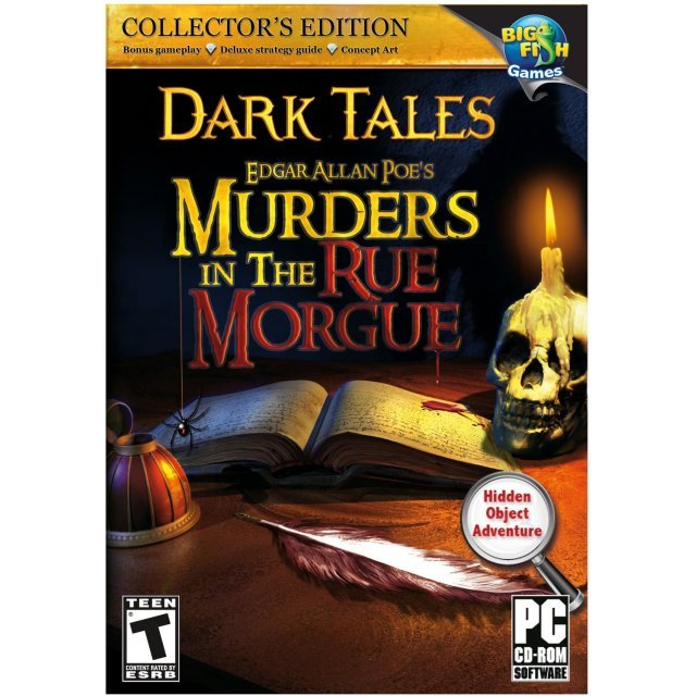 Dark Tales: Edgar Allan Poe's Murders in the Rue Morgue (DVD-ROM)