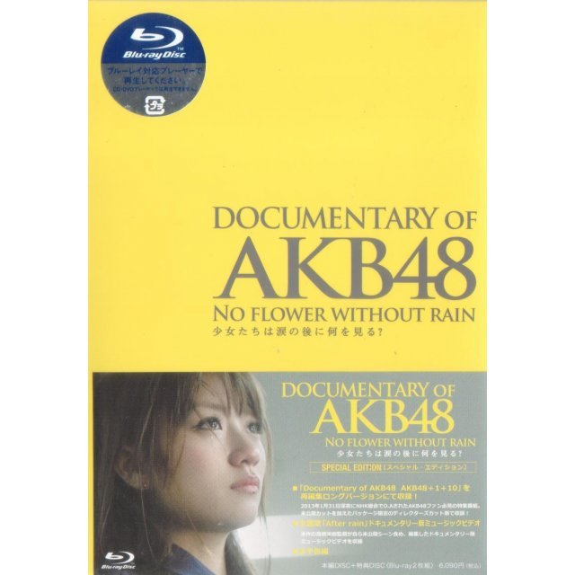Documentary Of Akb48 No Flower Without Rain Shojotachi Wa Namida No Ato Ni Nani Wo Miru Special Edition