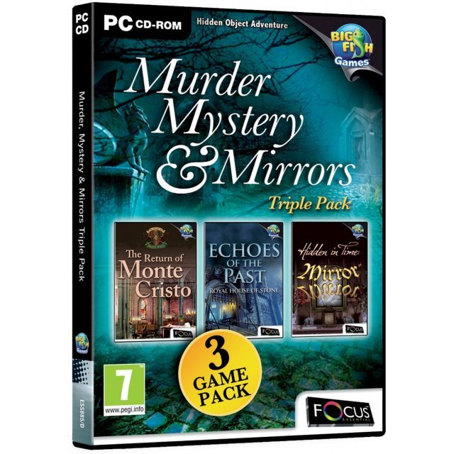 Murder, Mystery & Mirrors Triple Pack (DVD-ROM)