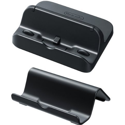 Nintendo Wii U GamePad Stand & Cradle Set (Black)