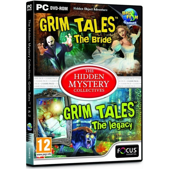 The Hidden Mystery Collectives: Grim Tales 1 & 2 (DVD-ROM)