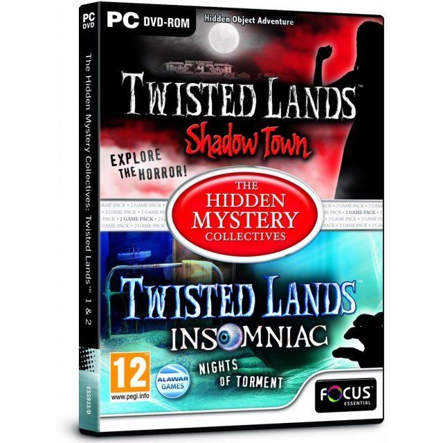 The Hidden Mystery Collectives: Twisted Lands 1 & 2 (DVD-ROM)