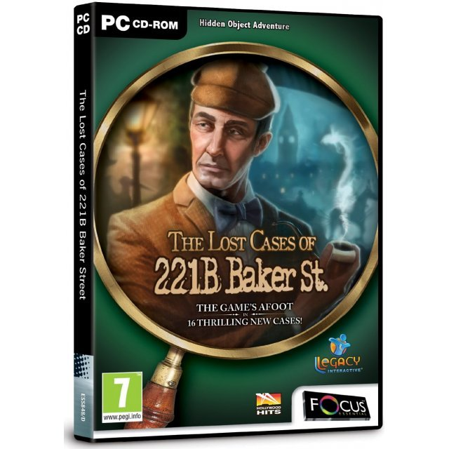 The Lost Cases of 221B Baker Street (DVD-COM)