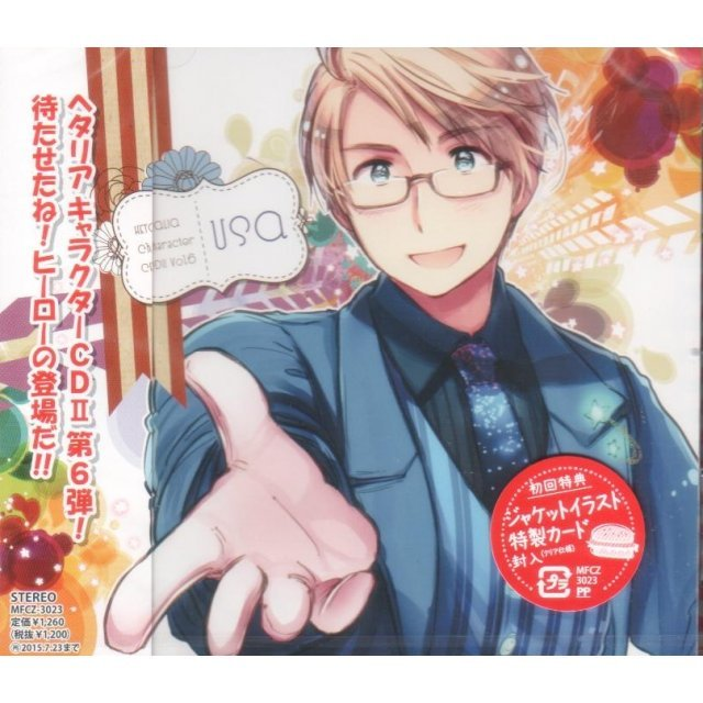 Hetalia Character Cd II Vol.6