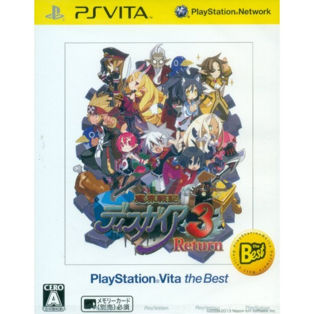 Makai Senki Disgaea 3 Return [PS Vita the Best Version]
