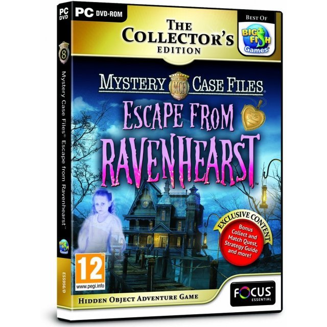 Mystery Case Files: Escape From Ravenhearst (Collector's Edition) (DVD-ROM)