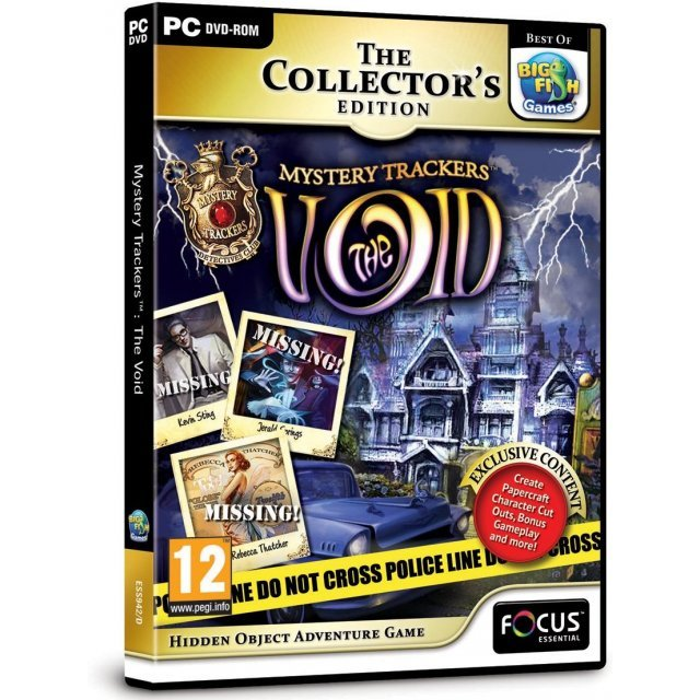 Mystery Trackers: The Void (Collector's Edition) (DVD-ROM)