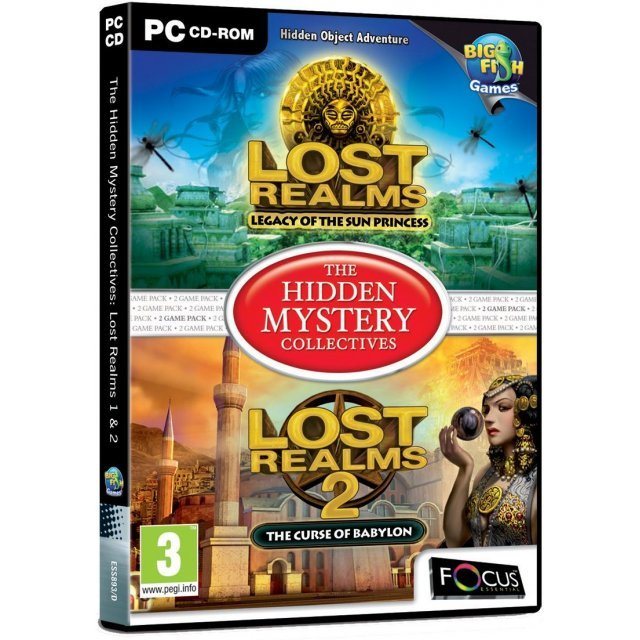 The Hidden Mystery Collectives: Lost Realms 1 & 2 (DVD-ROM)