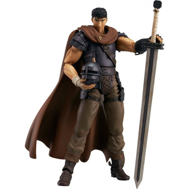 figma Berserk Non Scale Pre-Painted PVC Figure: Guts Band of the Hawk ver.