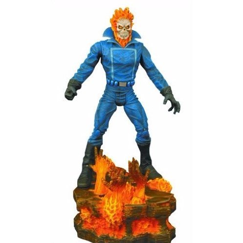 Marvel Select Pre-Painted Action Figure: Ghost Rider (Re-run)