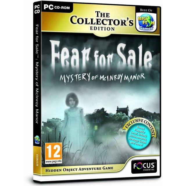 Fear for Sale: Mystery of McInroy Manor (The Collector's Edition)
