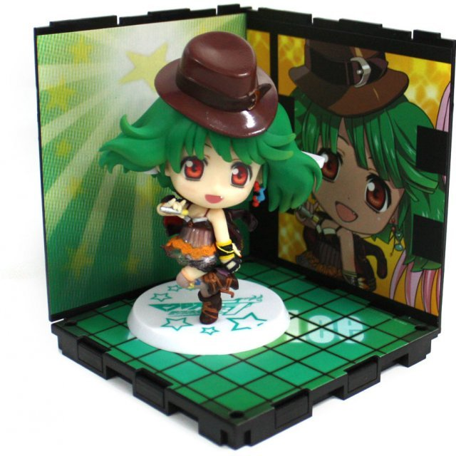Macross 30th Anniversity First Attack Ichiban Kuji Kyun Kyara World - Ranka Lee FB7 ver. Kyun Kyara & Stage Set [Prize E]