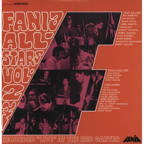 Fania All Stars: Vol. 2: Live at the Red Garter