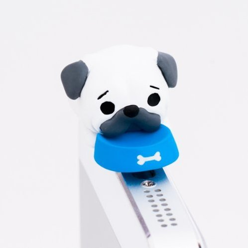 Earphone Jack: Pug Wanko