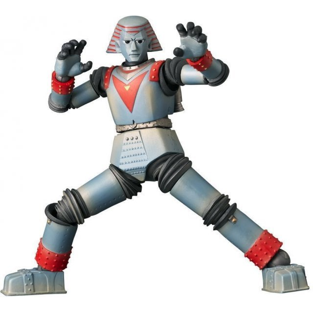Revoltech Series No. 009 - Giant Robo Non Scale Pre-Painted PVC Figure: Giant Robo with GR2 Head Parts (Re-run)