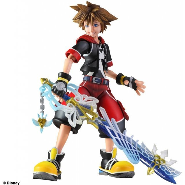 Kingdom Hearts 3D Dream Drop Distance Play Arts Kai Non Scale Pre-Painted Figure: Sora