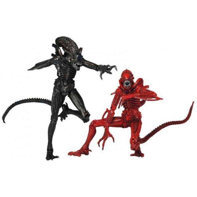Alien 7 inch Action Figure Pre-Painted PVC Action Figure Series: Genocide Alien Warrior 2 Pack