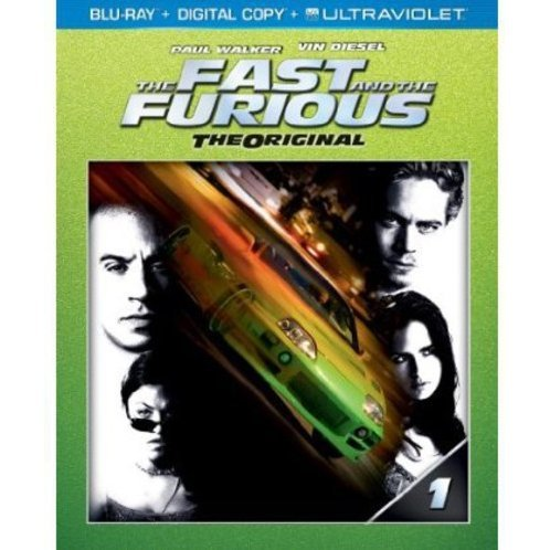 The Fast and the Furious [Blu-ray+Digital Copy+UltraViolet]