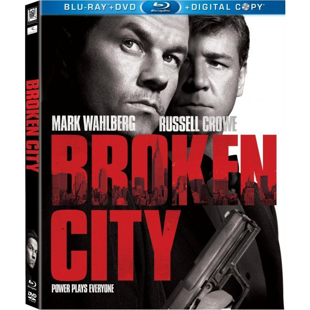 Broken City [Blu-ray+DVD+UV Digital Copy]