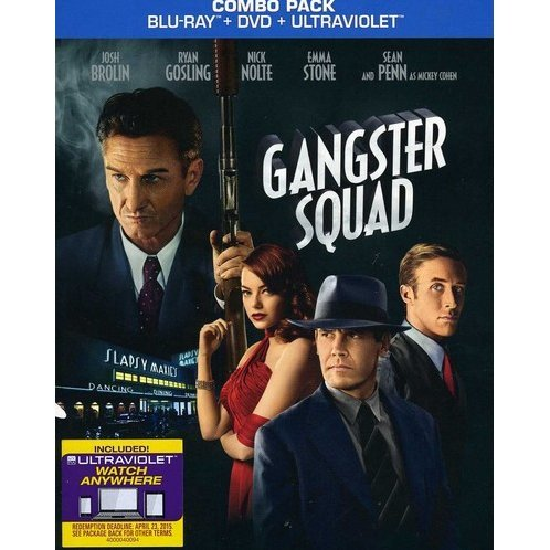 Gangster Squad [Blu-ray+DVD+UV Digital Copy]