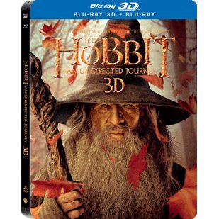The Hobbit: An Unexpected Journey 3D[4 Blu-ray Steelbook Limited Edition]