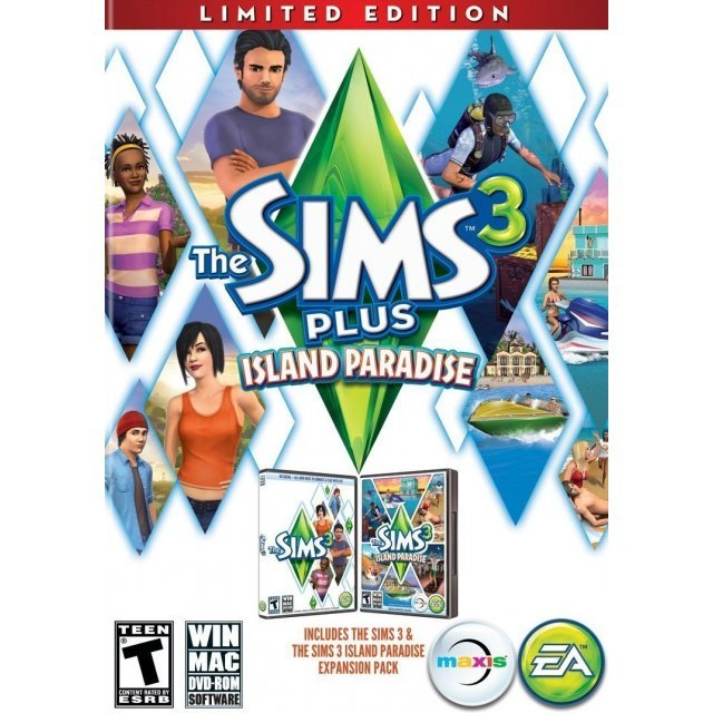 The Sims 3 Plus Island Paradise (Limited Edition) (DVD-ROM)