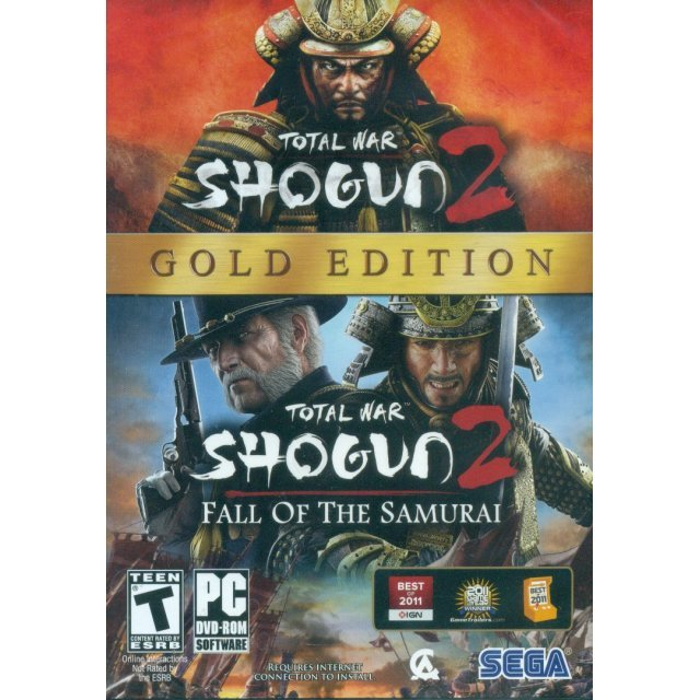 Total War: Shogun 2 Gold Edition (DVD-ROM)