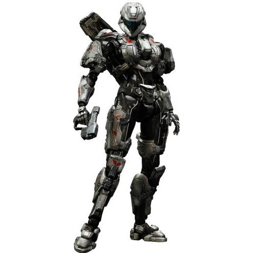 Halo 4 Play Arts Kai Non Scale Pre-Painted Figure: Spertan Sarah Palmer