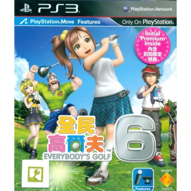 Minna no Golf 6 (Chinese & English Version)