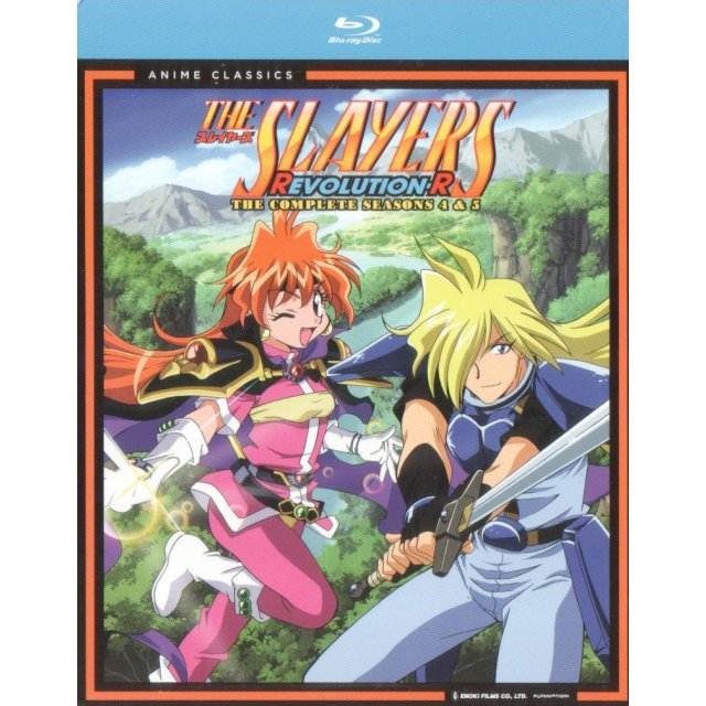 The Slayers: Revolution R - The Complete Seasons 4 and 5 [4-Disc Set]