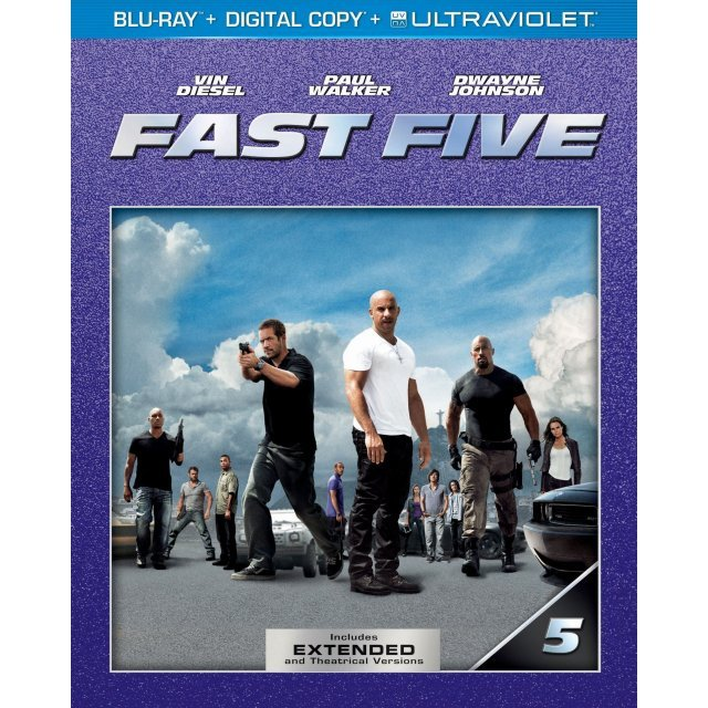 Fast Five [Blu-ray+Digital Copy+Ultraviolet]