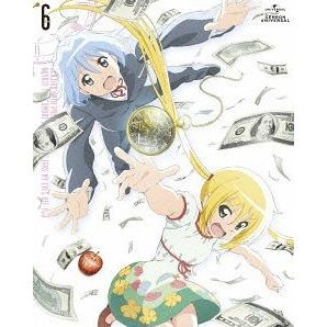 Hayate The Combat Butler / Hayate No Gotoku Can't Take My Eyes Off You Vol.6 [Blu-ray+CD Limited Edition]