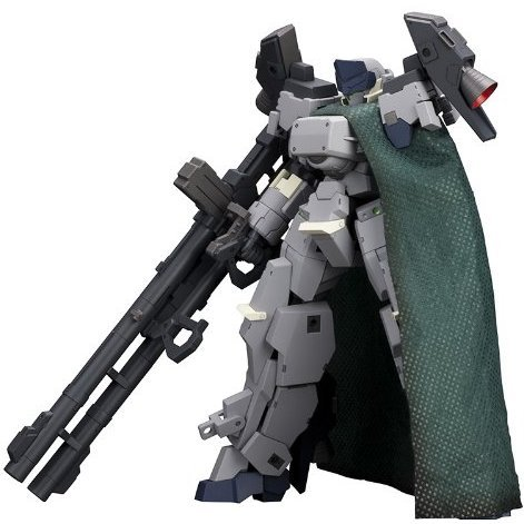 Frame Arms 1/100 Scale Pre-Painted Plastic Model Kit: Type 32-5 Zenrai Assault Equipped Type