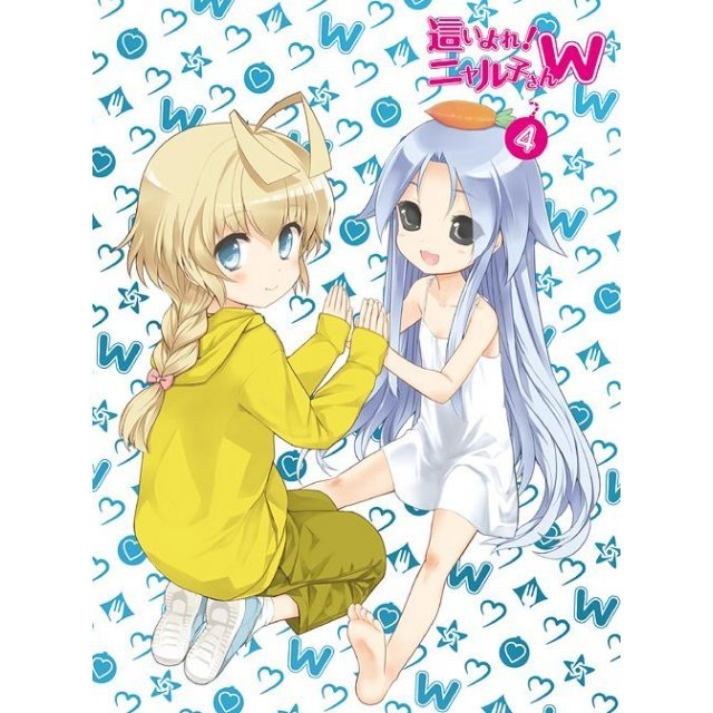 Haiyore Nyaruko-san W 4 [Blu-ray+CD Limited Edition]