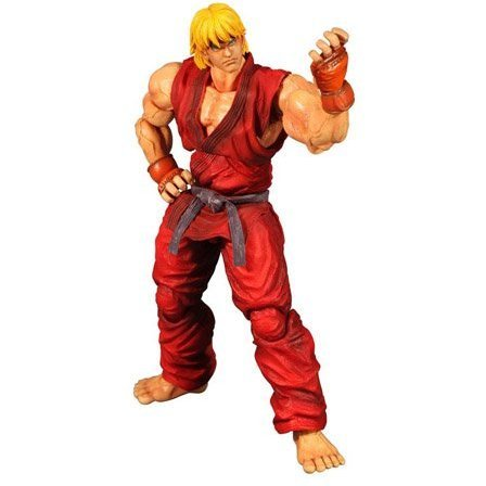 Super Street Fighter IV Play Arts Kai Arcade Edition Vol.4 Non Scale Pre-Painted PVC Figure: Ken