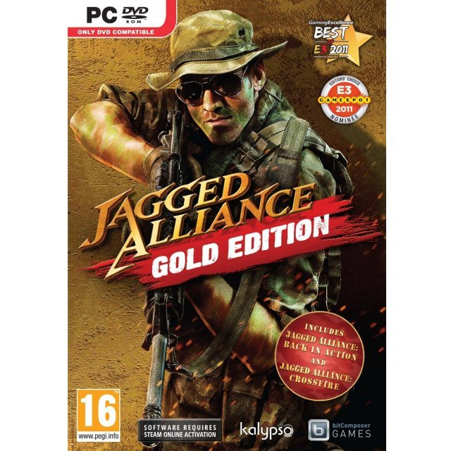Jagged Alliance Gold Edition (DVD-ROM)