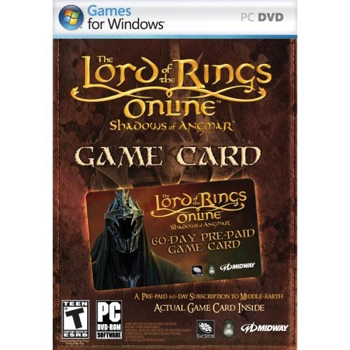 The Lord of the Rings Online: Shadows of Angmar - Prepaid 60-Day Game Time Card (DVD-ROM)