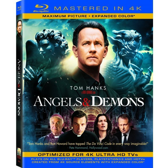 Angels & Demons [Blu-ray+UV Digital Copy]